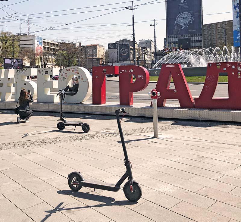 Dualtron skuteri Beograd, Srbija